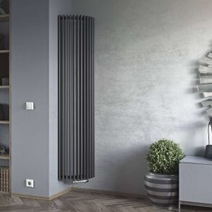 1 AURORA corner decorative room radiator Luxrad 1
