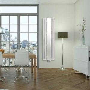 1 Aurora with a mirror decorative room radiator Luxrad 7