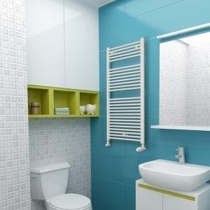 1 Gaja Luxrad radiator bathroom