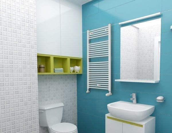 1 Gaja Luxrad radiator bathroom