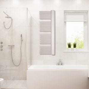 1 Model E cover radiator bathroom Luxrad