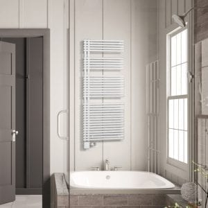 1 Model E radiator Luxrad bathroom