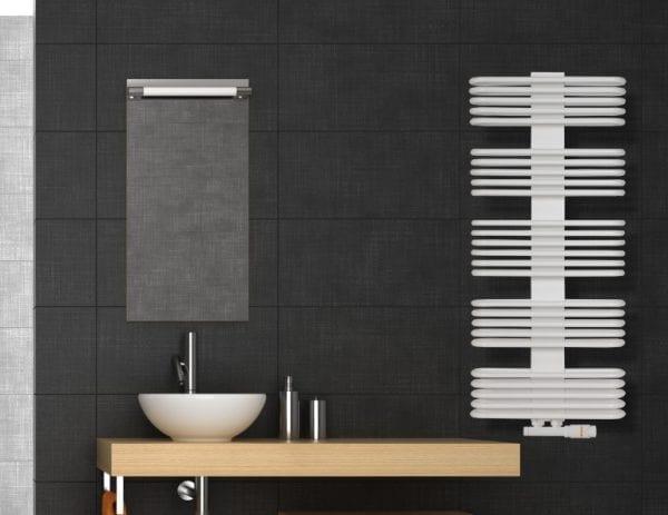 1 Ovaltic cover Luxrad radiator bathroom