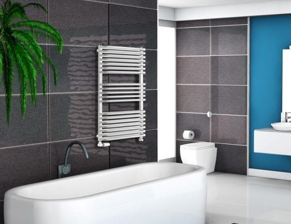 1 Salto Max radiator Luxrad bathroom